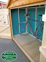 Bike Store Wooden bicycles shed